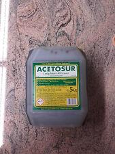 Essig-Essenz 80%, Acetosur Essig-Säure 80%,5 Liter, Lebensmittelqualität, dunkel