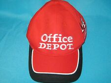 RARE 2012 OFFICE DEPOT TONY STEWART #14 RACING VELCRO BACK CAP HAT