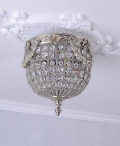 Deckenleuchte lampe Barock Deckenlampe Kristall Leuchte Hängeleuchte
