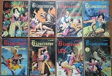 BIANCANEVE best seller COMPLETA n. 1 2 3 4 5 6 7 8 frollo SERIE GIGANTE A COLORI