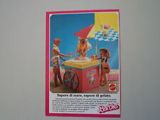 advertising Pubblicità 1988 BARBIE MATTEL