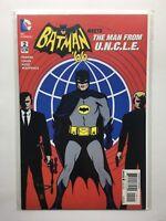 Batman '66 Meets the Man From U.N.C.L.E. #2  Dc Comic Book