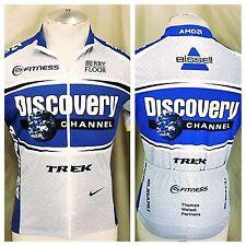 Nike Discovery Channel Trek (Medium) 1/2 Zip Up Dri-Fit Cycling Jersey