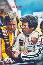 Mario Andretti & Ronnie Peterson JPS Lotus F1 Portrait 1978 Photograph