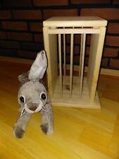 Kaninchen Hase Nager Meerschwein Kleintier Heuturm Raufe 25x25x34cm Käfigzubehör