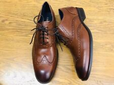 COLE HAAN WAYNE WINGTIP LEATHER LACE UP OXFORD MENS SHOES C30687 NWOB SIZE 8