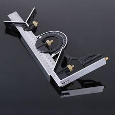 Combination Square Set Angle Finder Protractor Spirit Level Steel Ruler D