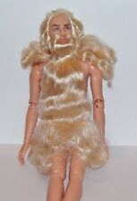 MATTEL NUDE Barbie MERLIN THE MAGICIAN JOINTED ELBOWS AND KNEES KEN DOLL