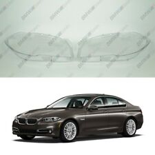 BMW 5 F10 / F11 OEM Headlight Glass Headlamp Lens Plastic Cover (PAIR)