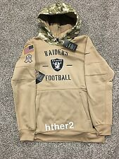 AUTHENTIC Nike 2019 Oakland Raiders Salute to Service Hoodie All Sizes STS Vegas