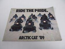 1989 Arctic Cat Vintage Accessories Snowmobile Catalog