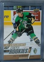 2017-18 Upper Deck CHL UD Exclusives #353 Star Rookies Rhett Rhinehart /100
