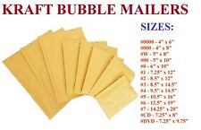 Kraft Bubble Mailers Padded Envelopes Protective Packaging Empire Mailers Brand