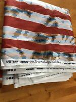 Modernist 1981 BRUNSCHWIG FILLS Westbury Screen Print Fabric John Jacoby 10 yds