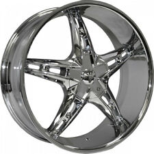 26 inch velocity V930 Chrome 4 wheels fit Tahoe suburban Escalade Sierra