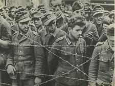 Italia, prigionieri di guerra italiani 1945 Tirage Postérieur Tirage argentiq