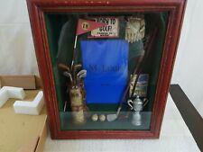 Golf Sports Shadow Box Photo Picture Frame Wall Tabletop Decor M. Louis NIB 4x6