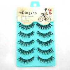Wholesale 5 pairs Makeup  Natural Fashion False Eyelashes Soft long Eye Lash