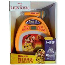 NEW: Disney Lion King Bluetooth MP3 Karaoke with Light Show