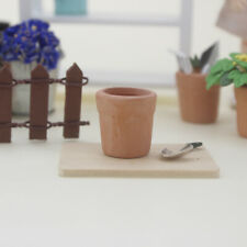 HK- Clay Ceramic Pottery Planter Miniature Pottery Flower Pots with hold toy