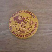1958 University Of Minnesota Gophers Homecoming Illinois Pinback Button