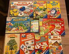 10 Ravensburger Spiele Kinderspiele Konvolut Sammlung