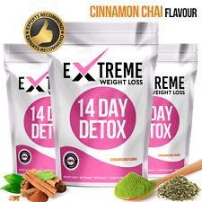 CINNAMON CHAI✶SLIMMING TEA✶14 DAY DETOX✶WEIGHT LOSS✶DIET✶BURN FAT SKINNY TEATOX