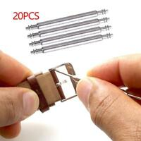 20X 18-26mm Watch Strap Band Link Stainless Steel Cotter Pins Spring Bar NEW~-