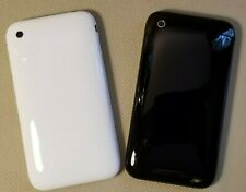 New Apple Housing Rear Back Cover with Silver Bezel for IPHONE 3GS A1325 A1303