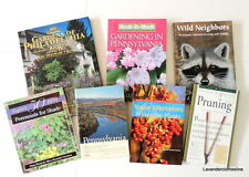 Lot of 7 Gardening Wild Life Pennsylvania Guides Plants Garden Pruning Books