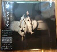 BILLIE EILISH When We All Fall Asleep, Where Do We Go?JAPAN CD w/2 BONUS