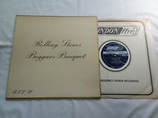 ROLLING STONES BEGGARS BANQUET UK ORIGINAL EXPORT JAPAN FFRR LONDON DECCA MAT1/1