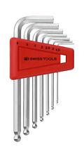 PB Swiss Tools PB 212.H-6 Hex Key Set Ballpoint Metric 1.5-6mm 7-Piece