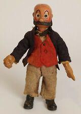 Antique Switzerland SABA BUCHERER Jointed Metal, Character Doll Mutt, 1920's