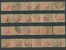 6 George VI (1936-1952) British Colony & Territory Stamps