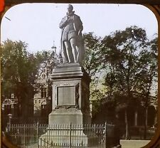 Statue, William I of Orange, Hague, Netherlands, Magic Lantern Glass Slide