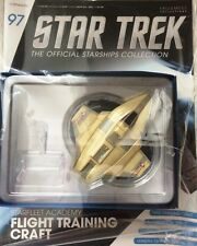 STAR TREK Official Starships Magazine #97 Starfleet Academy Flight Trainig engl