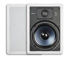 Polk Audio RC85i 2-Way In-Wall Speakers (Pair, White)