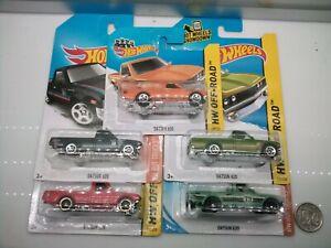 Hot Wheels / Datsun 620 Pickup Ute - Model Cars x5