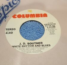 J. D. Souther ‎– White Rhythm And Blues ~ Promo ~ (M-)