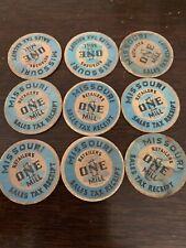 1935-1937 Missouri One Mill Sales Tax Receipt Coin