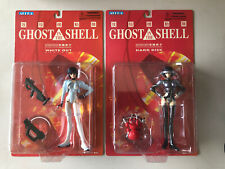 Ghost in the Shell Hard Disk White Out Alpha Kodansha Action Figure Lot 2 MOC
