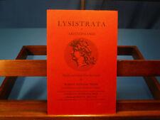 Lysistrata of Aristophanes- Robert Henning Webb, 1963