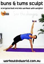 Pilates Barre Fusion EXERCISE DVD - Barlates Body Blitz BUMS AND TUMS SCULPT!