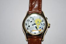 Vintage Tweety Bird Armitron Musical Watch 753H Lady 1999 Boy Quartz Warner Bosr