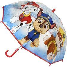 Paw Patrol Plastique Parapluie Bleu/Rouge 63.5cm (64cm)