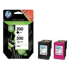 Original HP 300 Black & Colour combo Ink Cartridges C4680 C4780 Printer CN637EE