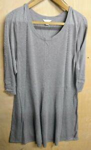 Monsoon - Light Fine Knit Buff / Light Brown Dress - Size 22 - Never Been Worn