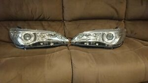 Fits Toyota Camry Headlights ASV50 Used Good Condition 2015 - 2017