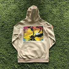 NEW Takashi Murakami Graffiti Kids See Ghosts Hoodie Kanye West Ink Painting